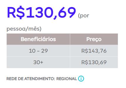 Amil Dental P6500 Coparticipação